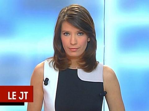 Claire-Elisabeth Beaufort au JT de Canal+