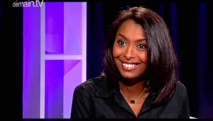 Samira Ibrahim sur le plateau de « Talents »