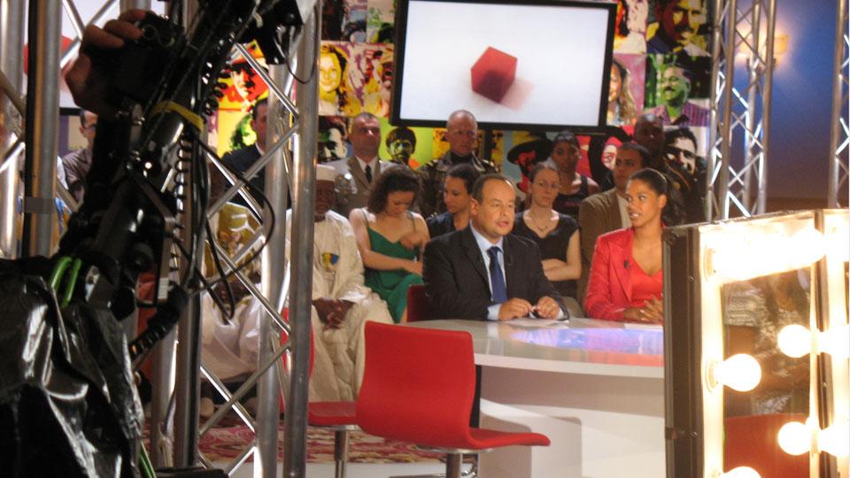 Ahmed El Keiy et Alexandra Baldeh-Lotas -crédit photo : Damien D. / TéléSphère;
