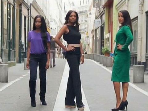 Katia Barillot, Samira Ibrahim et Audrey Chauveau - crédit photo : FTV