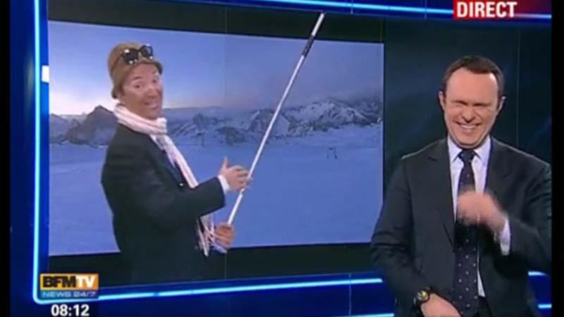 Philippe Verdier et Christophe Delay à première Edition