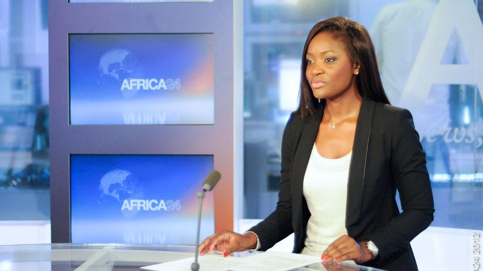 Sandra Tshiyombo - crédit photo : ©Africa24