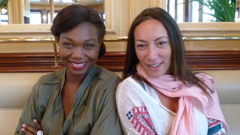 Kareen Guiock & Juliette Fiévet - crédit photo : Damien D. / TéléSphère