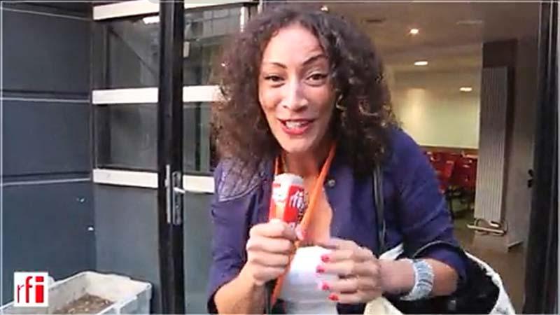 Juliette Fiévet au Orange Rock Corps pour RFI