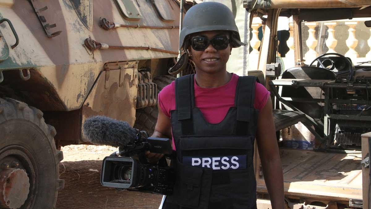 Tatiana Mossot au Mali