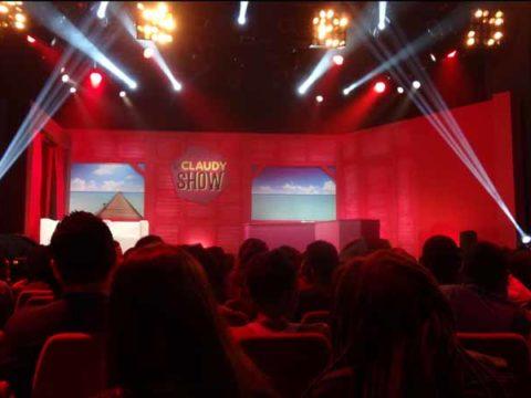 La scène du Claudy Show - crédit photo :©Nathalie L. / TéléSphère