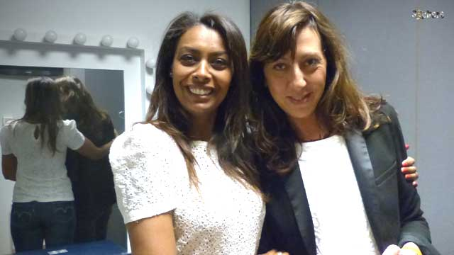 Samira Ibrahim et Béatrice Rion styliste