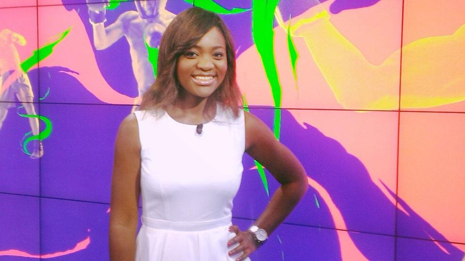 Sandra Tshiyombo à Talents d'Afrique - crédit photo :©Canal + Afrique