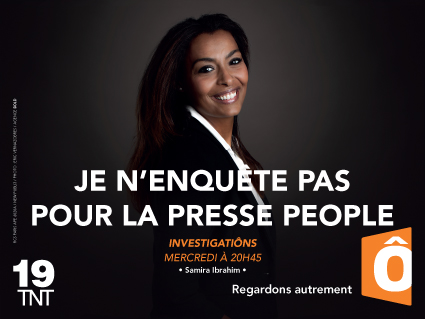 Samira Ibrahim campagne image France Ô 2014