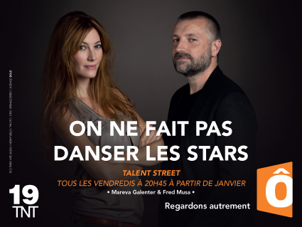 Fred Musa & Mareva Galenter campagne image France Ô 2014