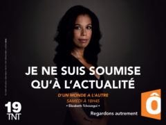 Elisabeth Tchoungui campagne image France Ô 2014