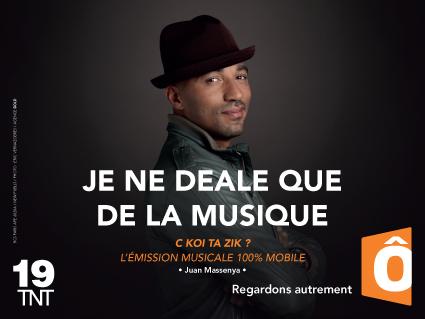 Juan Massenya campagne image France Ô 2014