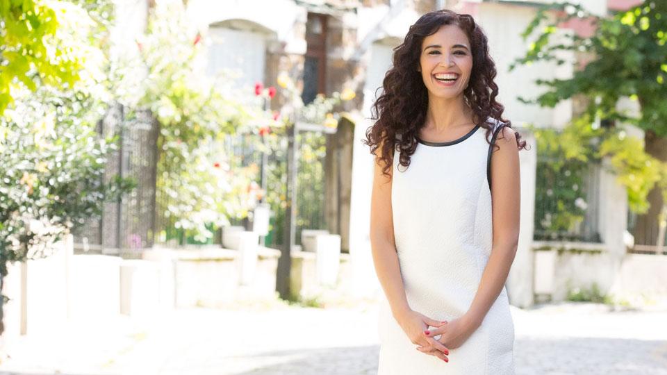 Aïda Touihri dans « Cité gagnant » - crédit photo : ©LCP