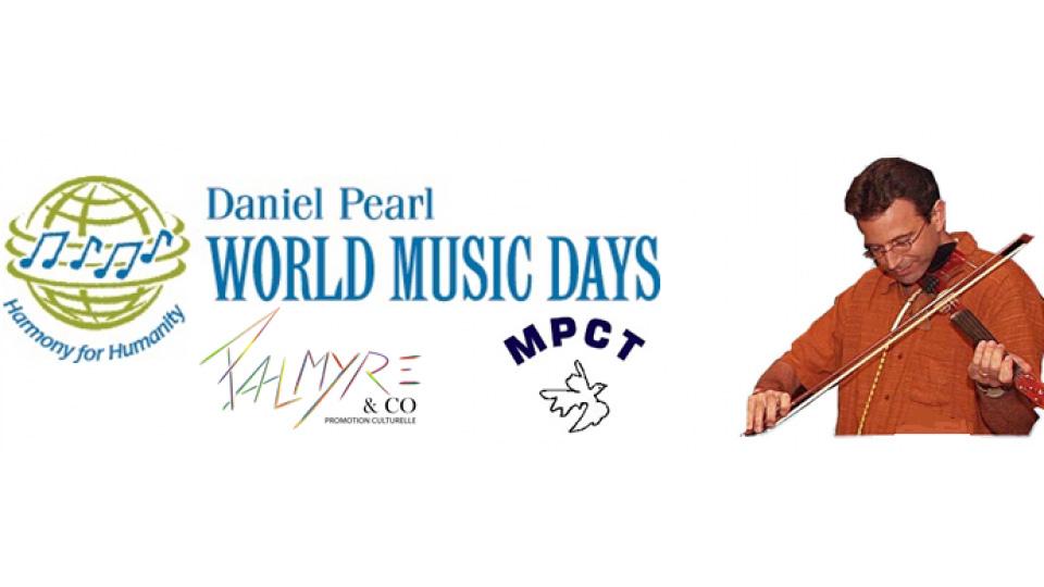 Logo du concert Daniel Pearl