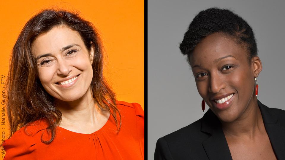 Coumba Kane & Eléonore Abou Ez - crédit photo : Nathalie Guyon / FTV;