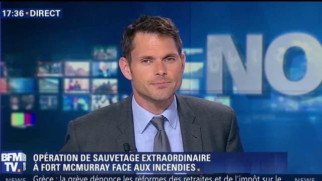 Frédéric de Lanouvelle au JT de BFMTV