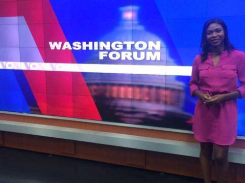 Tatiana Mossot présente le « Washington Forum »