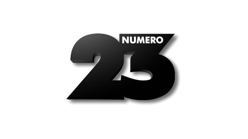 «Numéro 23 logo 2013» par Agence inconnue — http://phototheque.numero23.fr/sites/all/themes/n23/img/logon23.png. Sous licence marque déposée via Wikipédia - https://fr.wikipedia.org/wiki/Fichier:Num%C3%A9ro_23_logo_2013.png#/media/File:Num%C3%A9ro_23_logo_2013.png