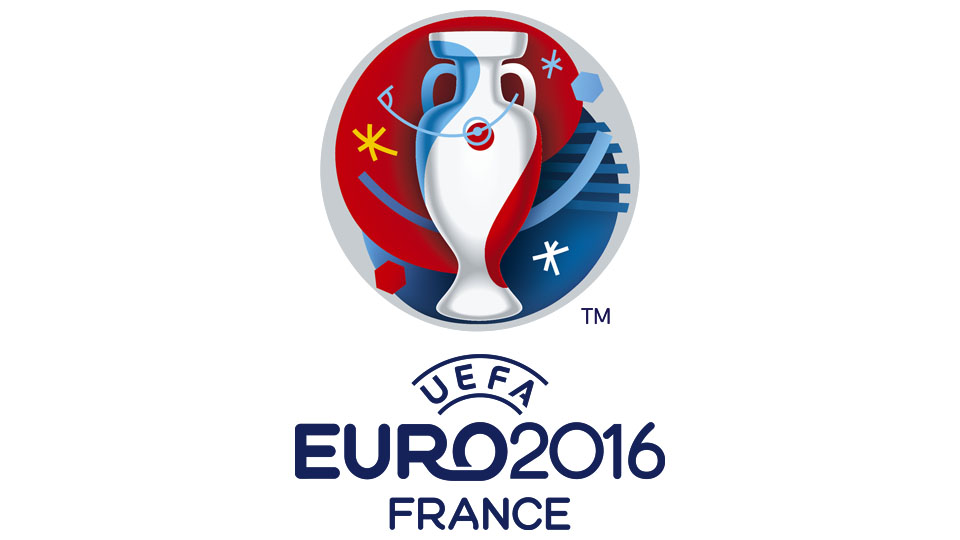 Logo UEFA Euro 2016 - © UEFA et Brandia Central