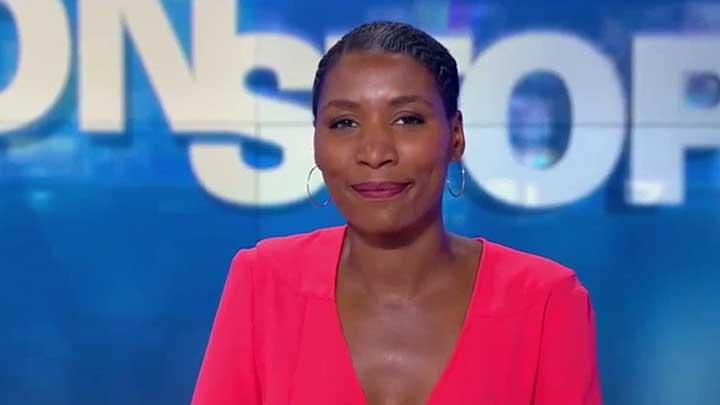 Johanna Ghiglia sur le plateau de BFMTV - 5 août 2016 - par TéléSphère