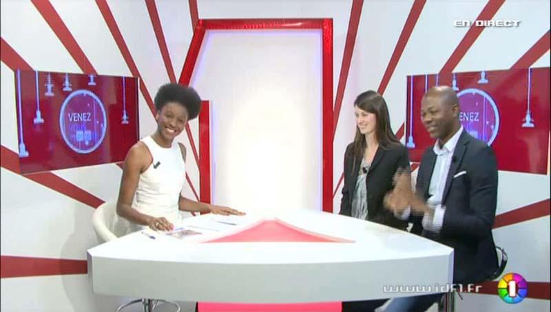 Khady Diallo, Aurélia Arribat & Fernand Beyene dans IDF&vous