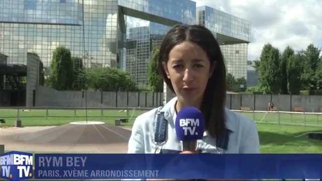 Rym Bey en duplex sur BFMTV - par TéléSphère