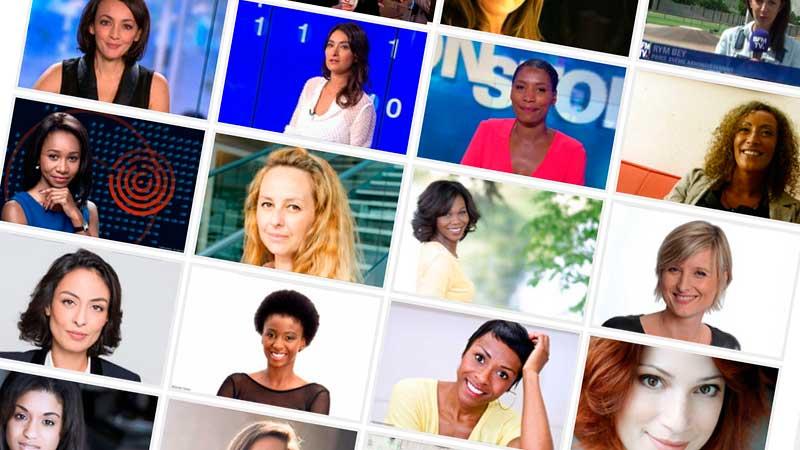 Portraits de femmes de télés ©TéléSphère