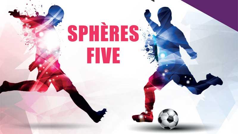 Couverture de Sphères Five