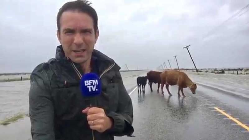 Cédric Faiche au Texas - Cyclone Harvey