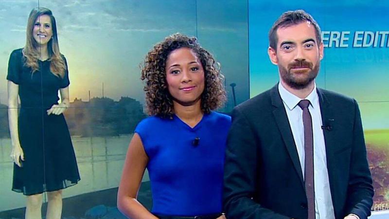 Virginie Sainsily aux côtés de Gaël Giordana et Daniela Prépéliuc sur BFMTV