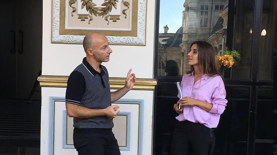 Rachid Ouramdane interviewé par Virginie Plaut
