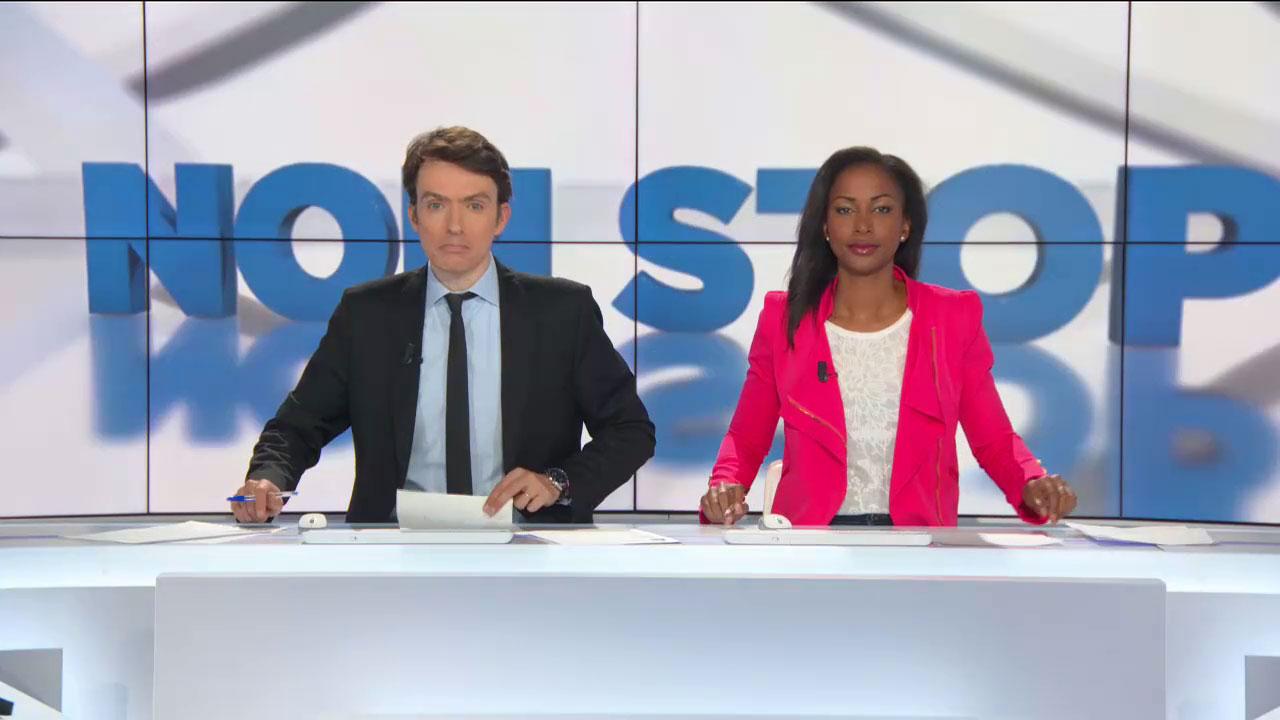 Benjamin Dubois et Fanny Wegscheider au Non-Stop sur BFMTV
